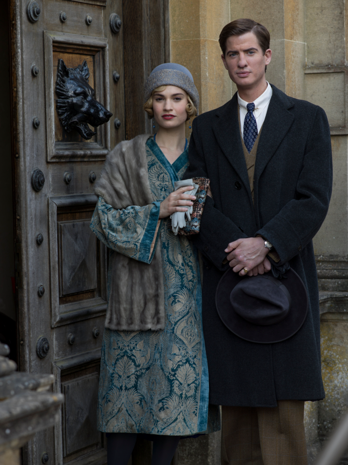 Downton Abbey 6 Christmas Special Rose and Atticus | Downton Abbey ...
