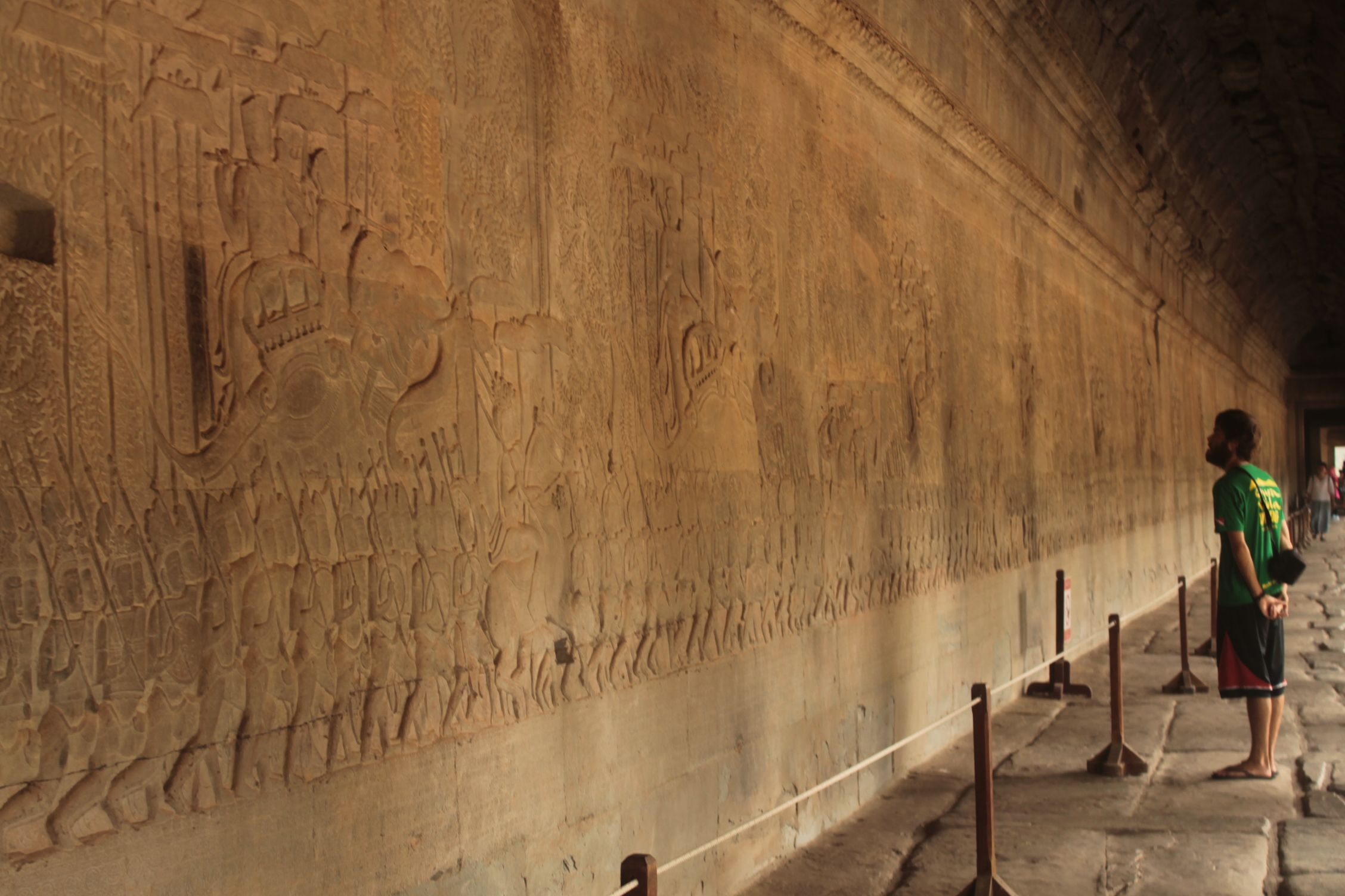 Relieves del templo Angkor