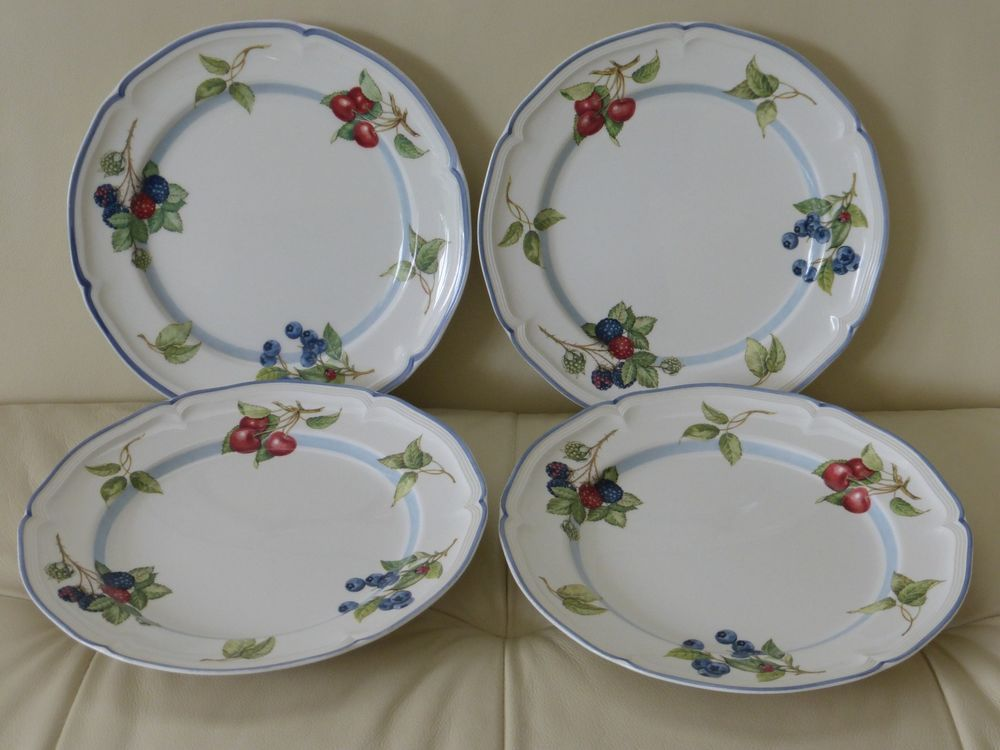 Villeroy Boch Cottage Dinner Plates Set Of 4 Villeroyandboch