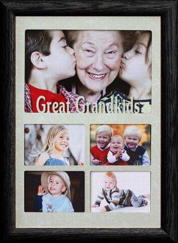 7x10 GREAT GRANDKIDS ~ Multi-Landscape Collage Picture Frame ~ Laser ...