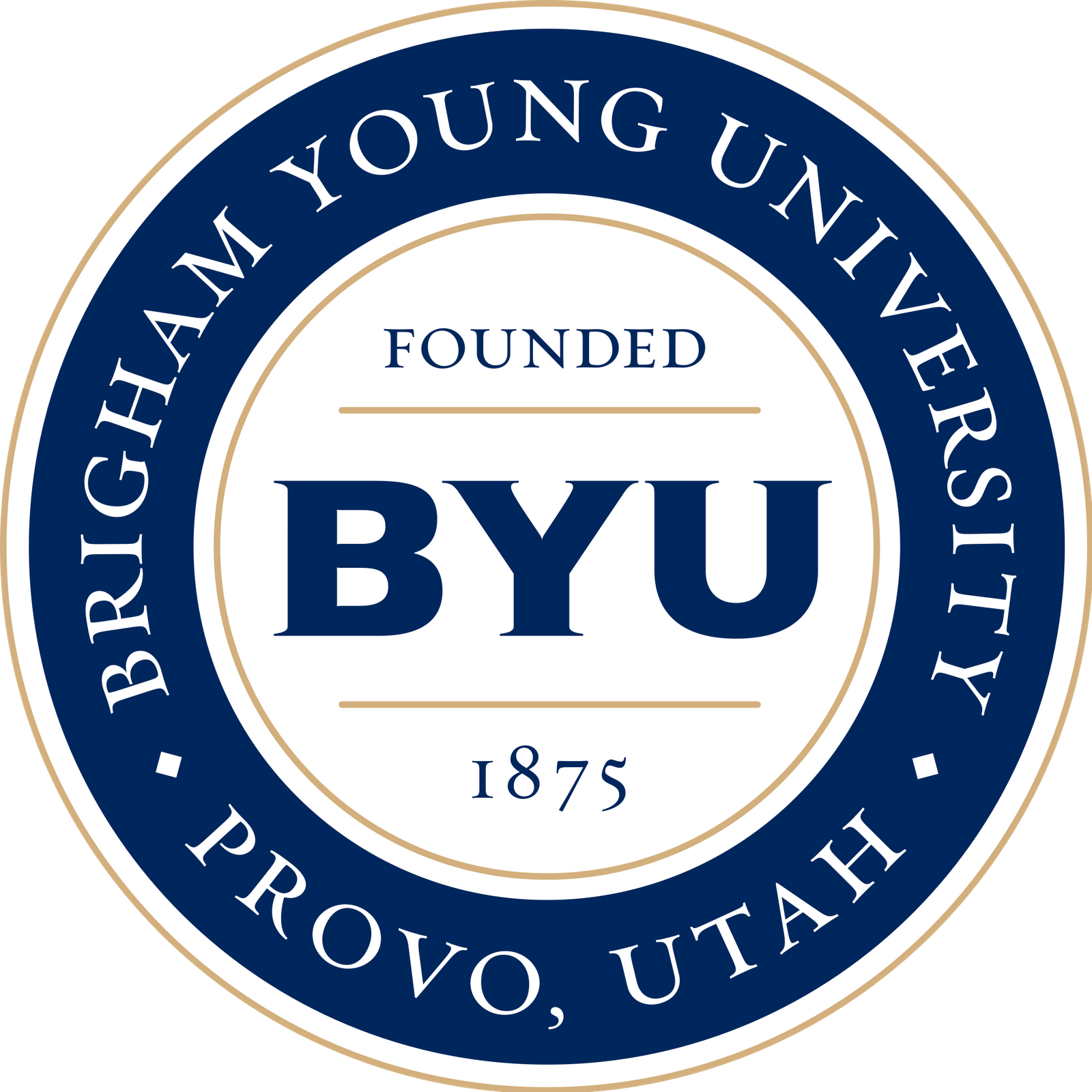 Byu Medallion Logo Brigham Young University Brigham Young College Tour