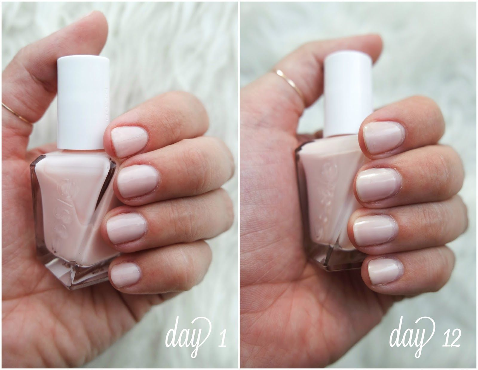essie fairy tailor; essie gel couture line before and after; essie ...