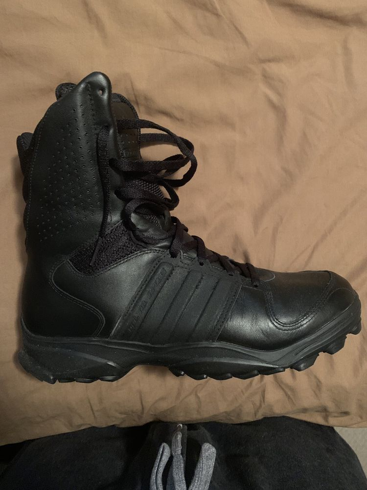 Men's Adidas GSG 9.2 Tactical Boots Size 12.5 US #fashion