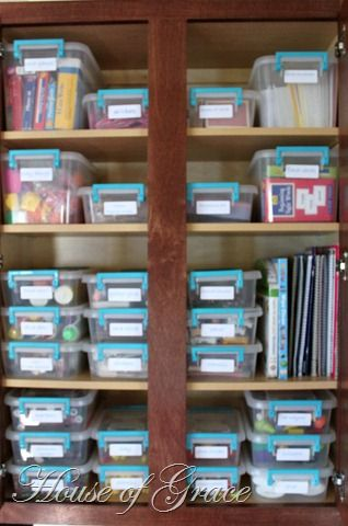 Organize Craft Supplies I Have These Type Of Containers