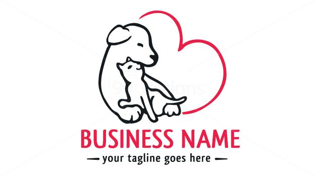 Veterinary Logo On 99designs Logo Store Cao E Gato Clinica