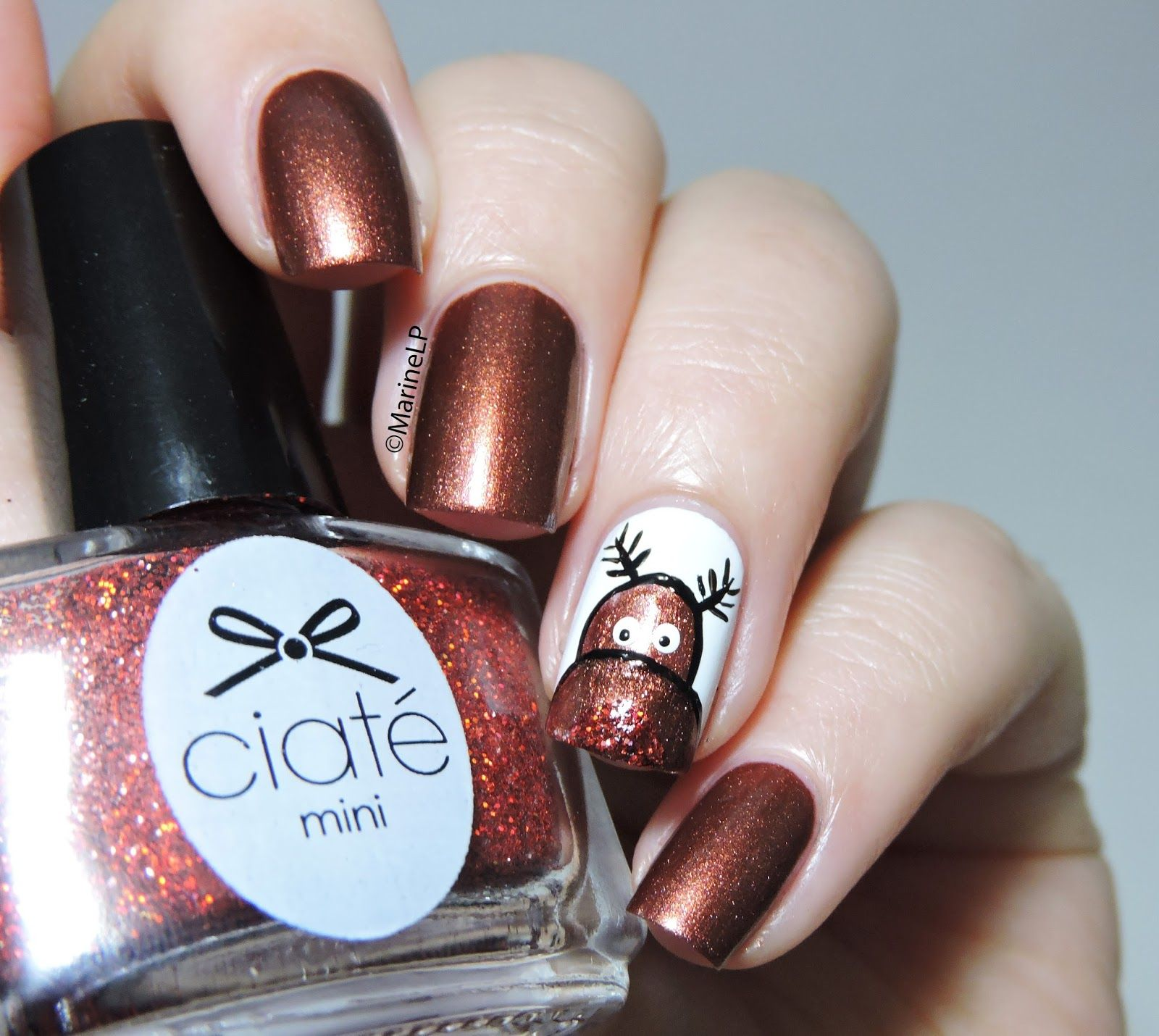 Nailstorming Rudolph And I Are Wishing You A Merry Christmas