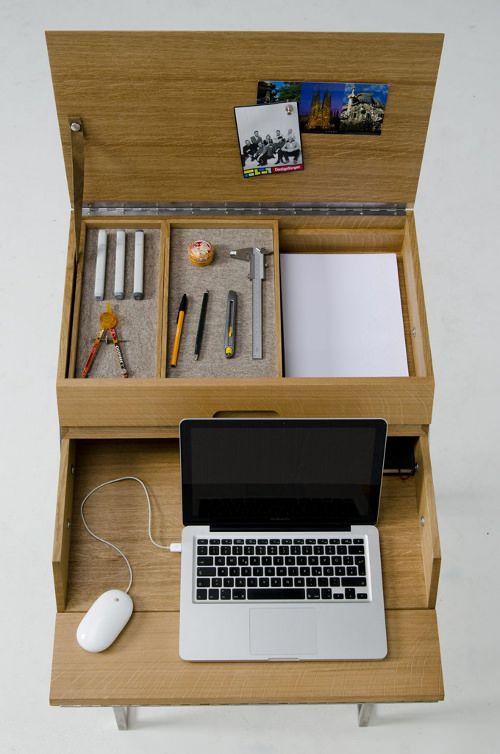 Klippen Klappen le bureau boite à outils par Gregor Korolewicz The