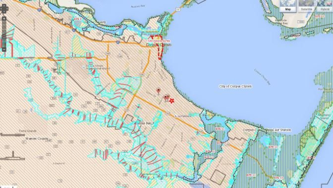 City Presents Revised Fema Maps To Public Flood Map Map Fema Flood