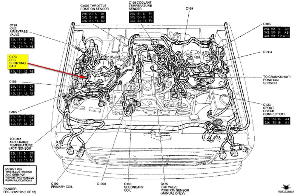 Ford 4 0l Engine Diagram