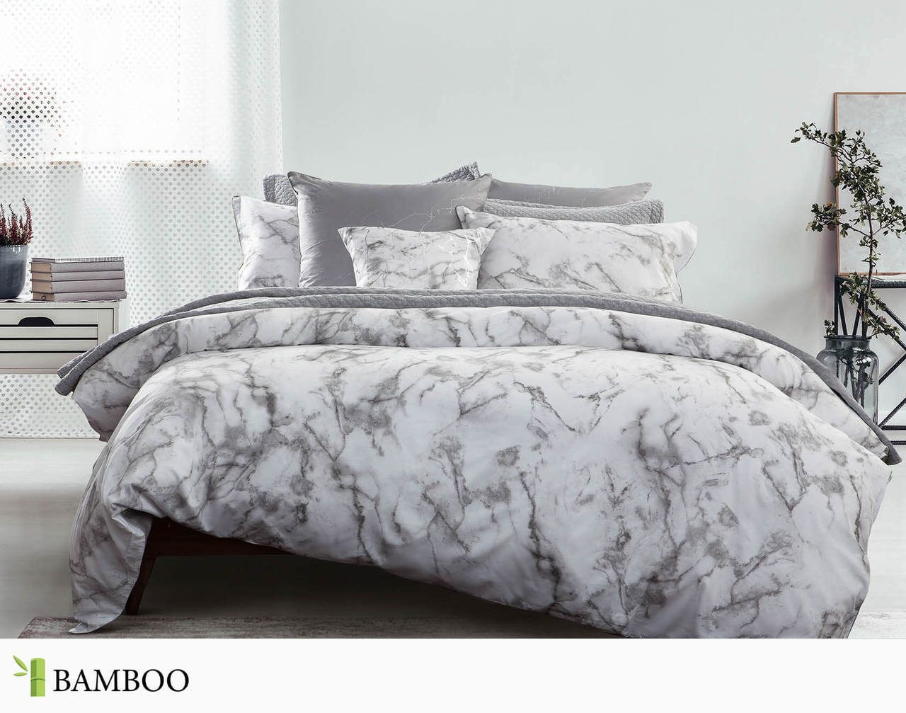 Merano Duvet Cover By Qe Home King Grey By Qe Home In 2020