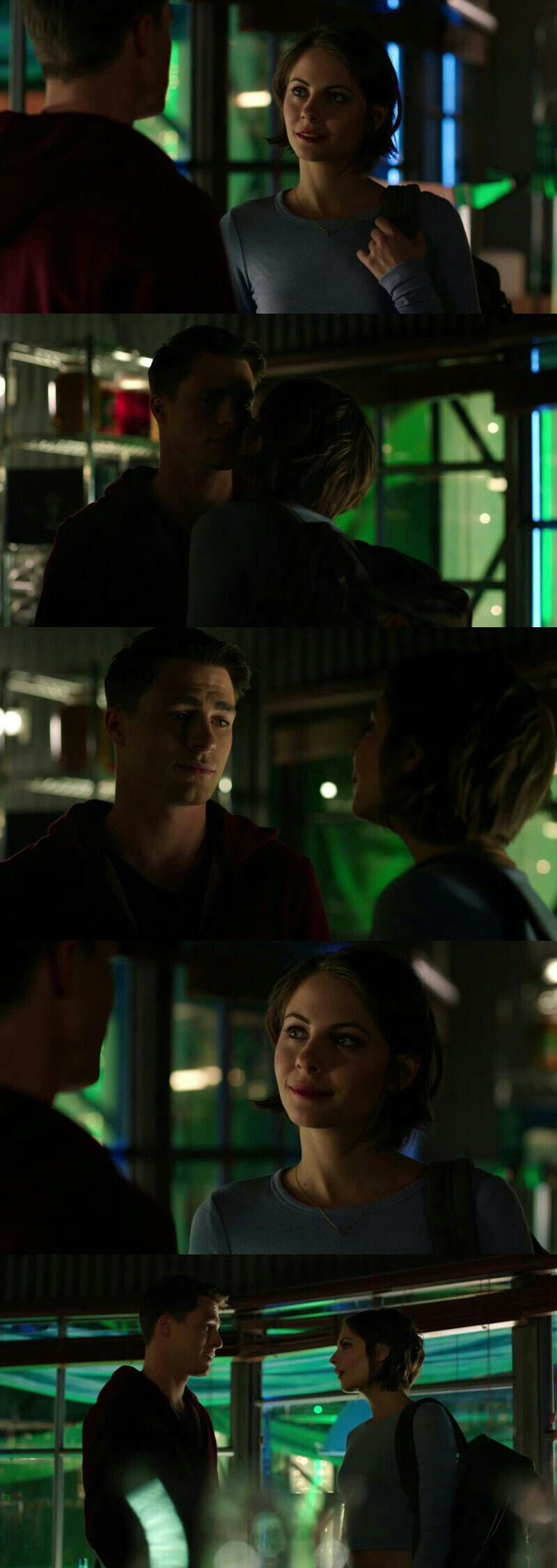 #Arrow3x13 #RoyHarper and #TheaQueen They are so cute together