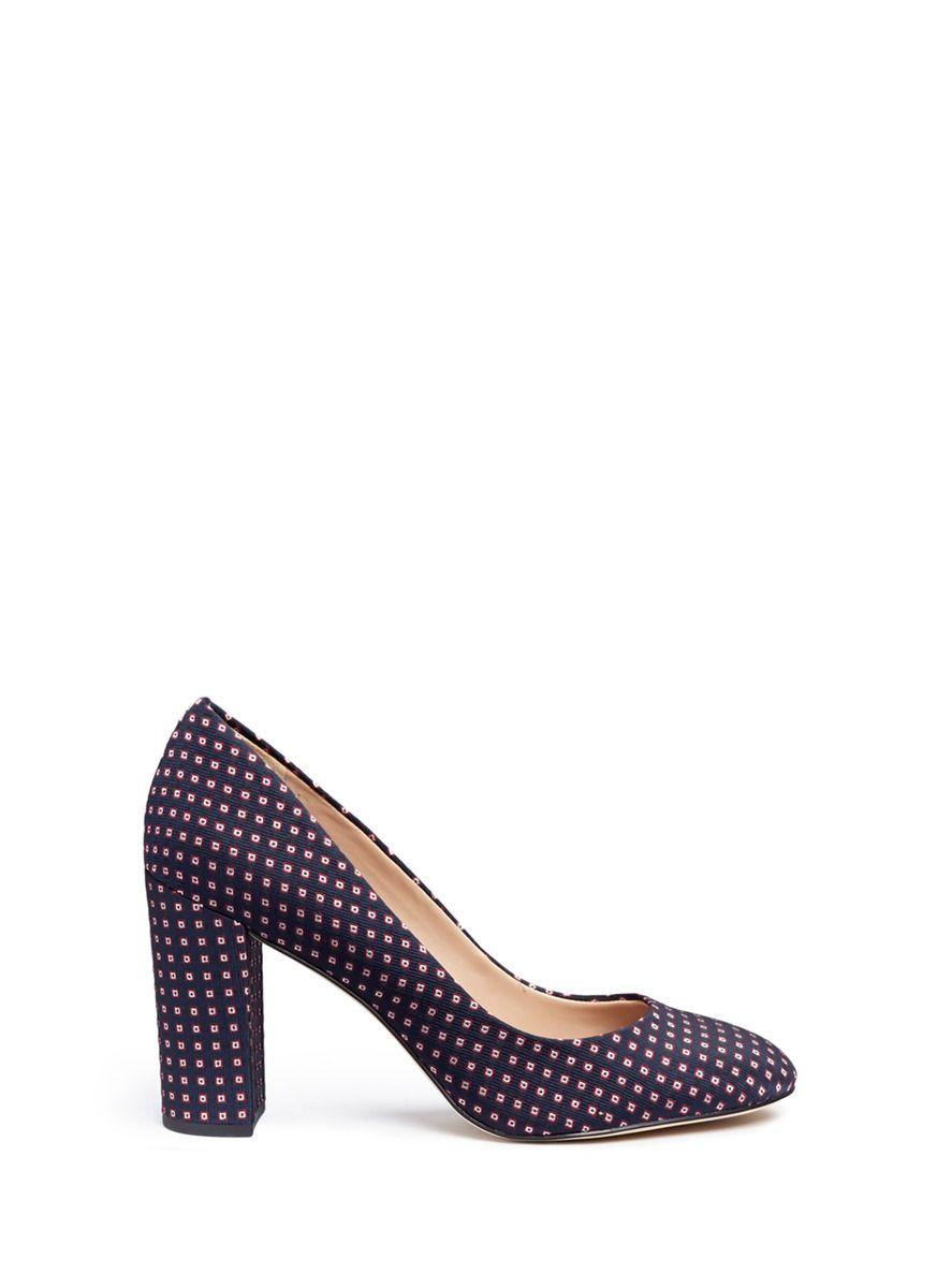 267f76d5bbf57 SAM EDELMAN  Stillson  geometric tile jacquard pumps.  samedelman  shoes   pumps