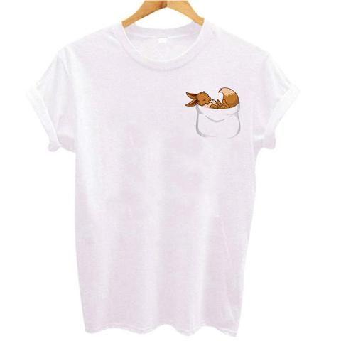 7d2ab262094d78 Sexy Women Tops funny T shirt pokemon go Printed T-shirt Kawaii Pikachu  Harajuku Pika tee shirt Femme Women tumblr