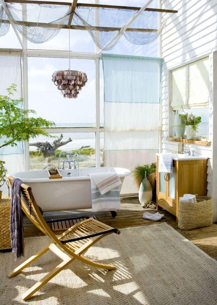 Kinderzimmer decke design fischernetz deko bringt eine maritime stimmung ins haus  pinterest