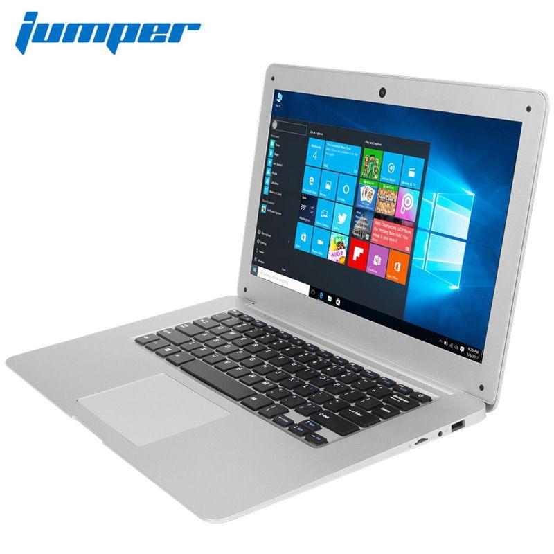 Jumper ezbook 2 a14 máy tính xách tay 14.1 inch windows 10 1080 p fhd máy tính ultrabook intel cherry trail z8300 4 gb 64 gb máy tính xách tay