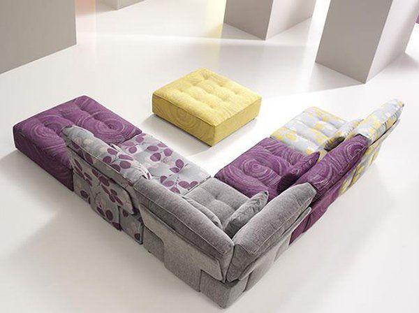 Tiefsitz-Ideen in lila und grau für Möbel von Fama show Pinterest - graue moebel einrichtung modern ideen