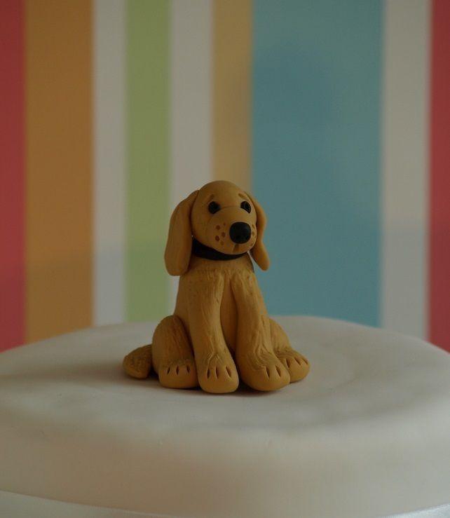 Golden Retriever Cake Topper Cakepins Com Golden Retriever Cake
