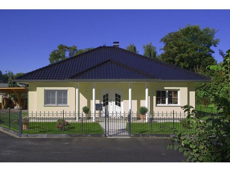 Massivhaus walmdach  Zingst - #Einfamilienhaus von Bau- GmbH Roth | HausXXL #Massivhaus ...