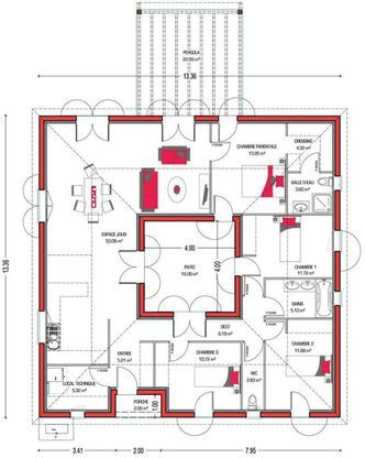 Maison Villa Patio - Couleur Villas Faire construire sa maison
