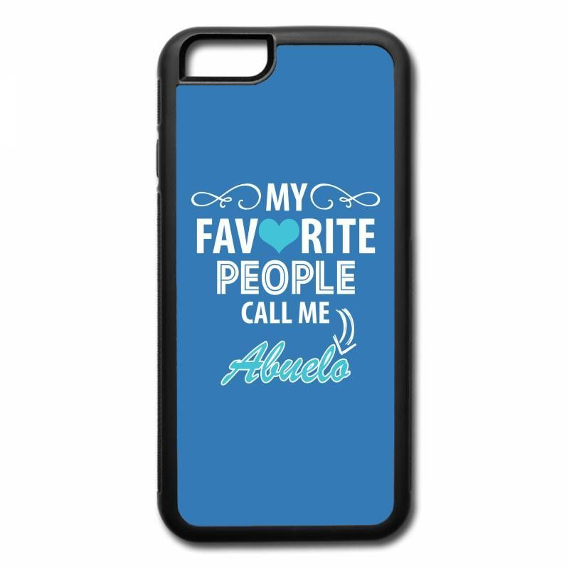 my favorite people call me abuelo iPhone 7 Case