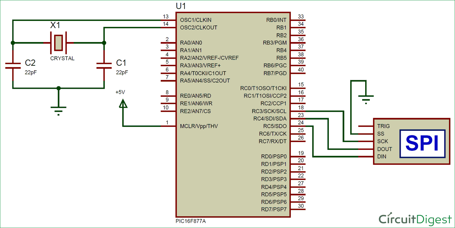 Simulating Pic With Spi Debugger Pic Microcontroller