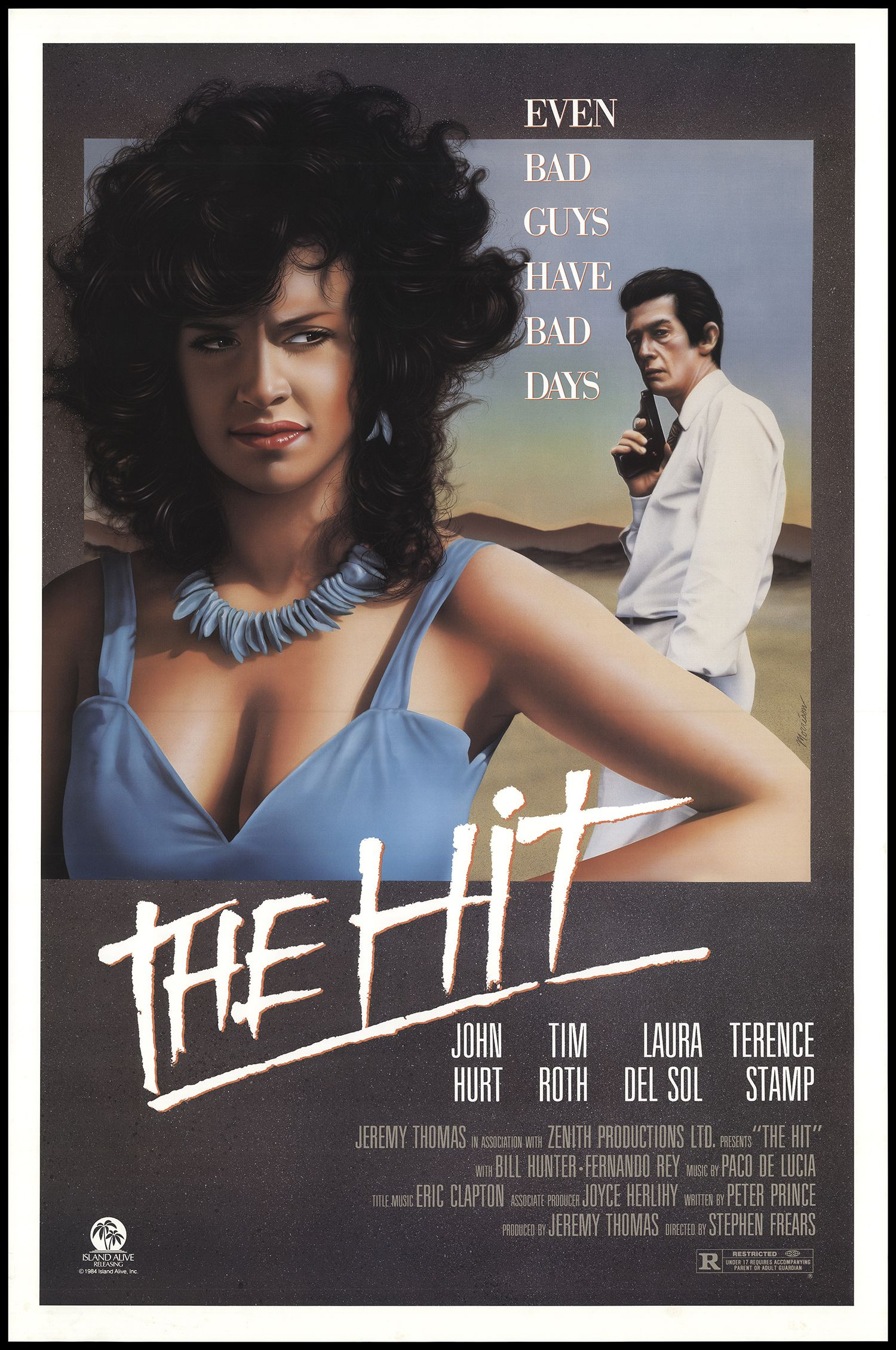 The Hit (1984) Hits movie, Terence stamp, Hd movies
