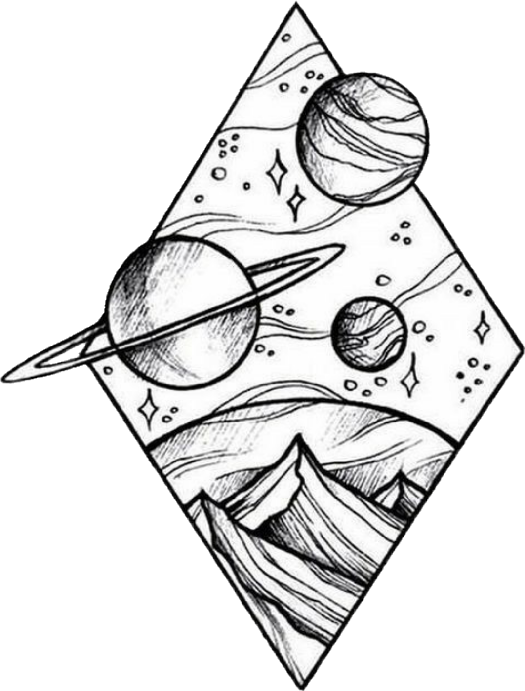 Freetoedit Scplanetstickers Planet Mountain Space Draw Drawing Astronaut Remixit In 2020 Small Mandala Tattoo Armband Tattoo Meaning Tattoo Designs Men