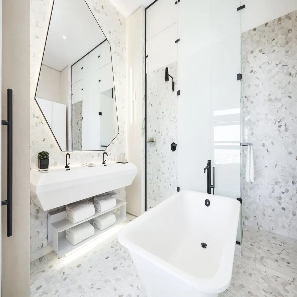 Photo of 35 atemberaubende Hotel-Badezimmer, in denen Sie Ihren gesamten Urlaub verbringen möchten
