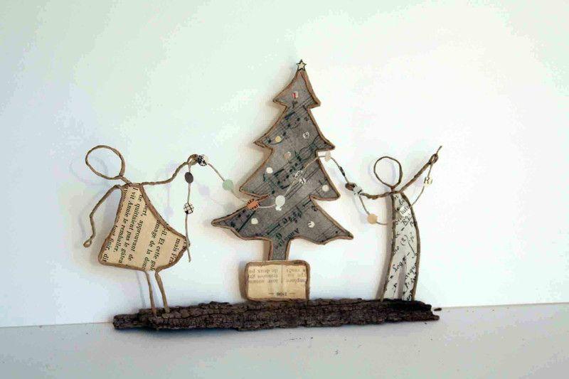 Sapin De Noel Kraft : sculptures assembl es la d coration du sapin est une ~ Pogadajmy.info Styles, Décorations et Voitures