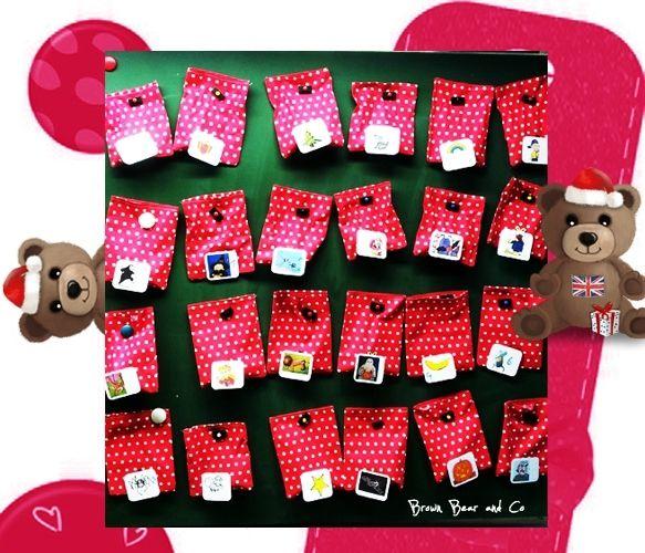 Le calendrier de l'Avent pour réviser, cycle 2. - Brown Bear & Co, L'anglais avec le Storytelling #bonpourcalendrierdelavent