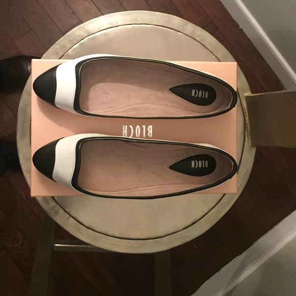 Bloch color-block patent leather ballet flats Brand new and gloriously comfortable, sz 38, ballet flats! Perfect addition for your wardrobe. Bloch Shoes Flats & Loafers