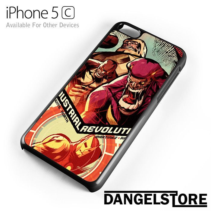 Iron Man Marvel Comic Cover 6 For iPhone 5C And Other Devices
