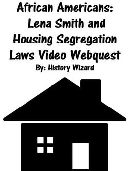 This video worksheet allows students learn about housing segregation ...