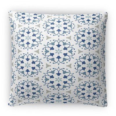 Kavka Kaleidoscope Fleece Throw Pillow
