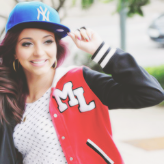 Jade Thirlwall- I have that jacket! That amazing feeling when you have the same jacket as an awesome celebrity.