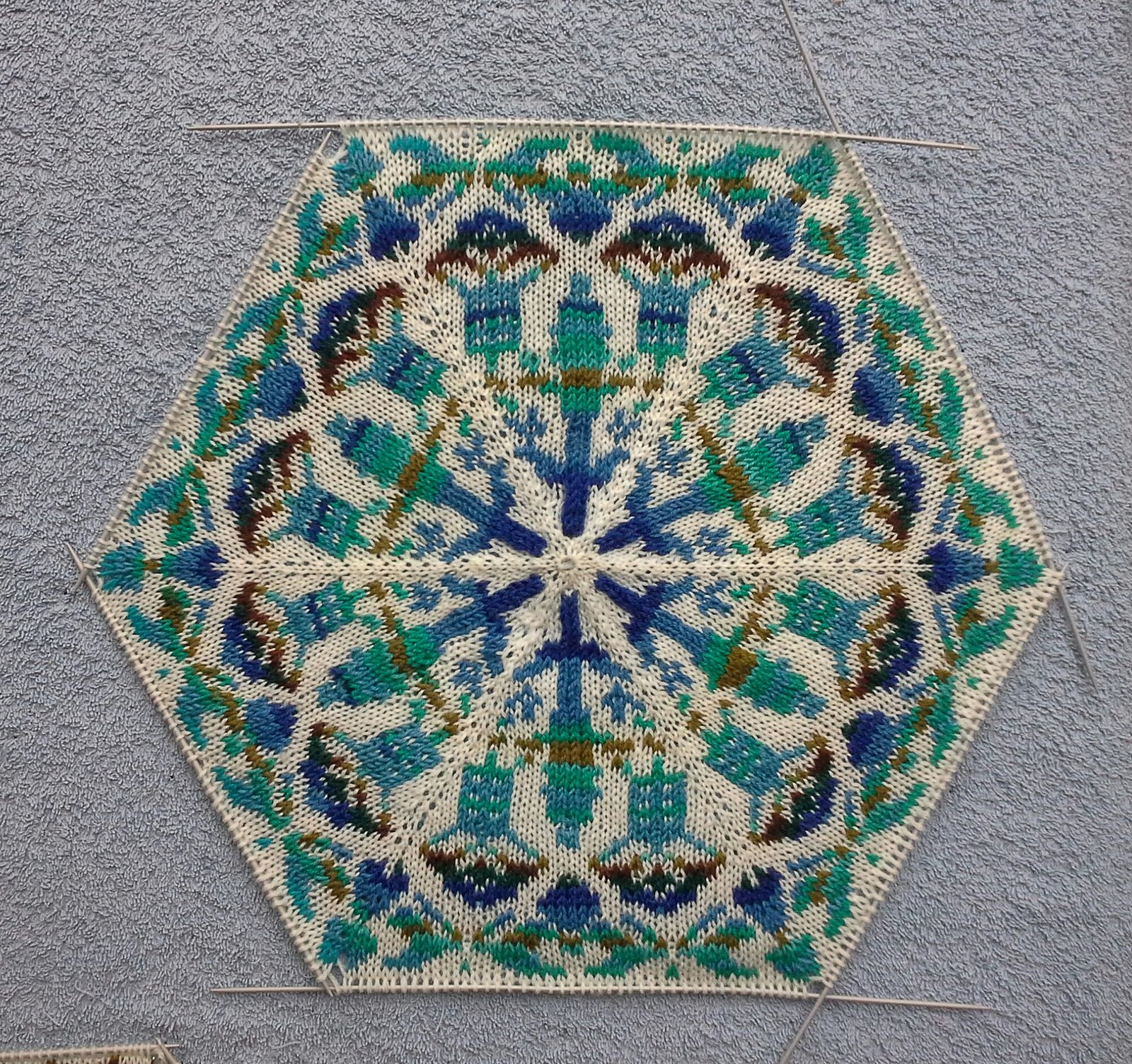 Persian Dreams pattern by Jenise Hope | Stricken, Stirnband und ...