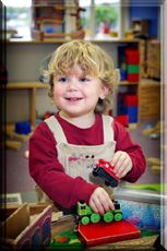 Our Early Pre-K program for 2-3 year olds allows for child-initiated learning in a fun, safe environment. Half day, full day, and part-time options available.