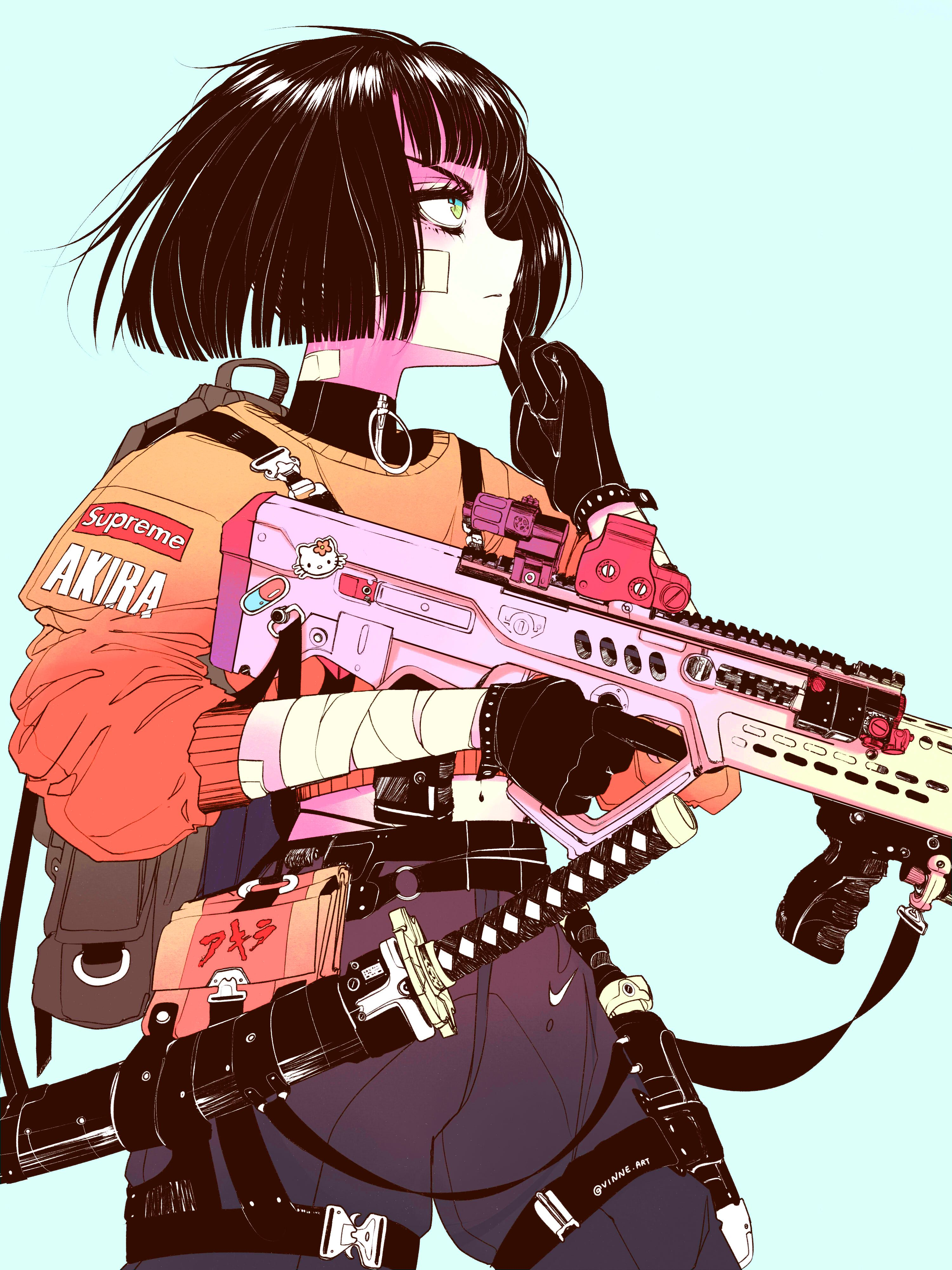 Pin by Terence Tolman on vinne Cyberpunk art, Character art