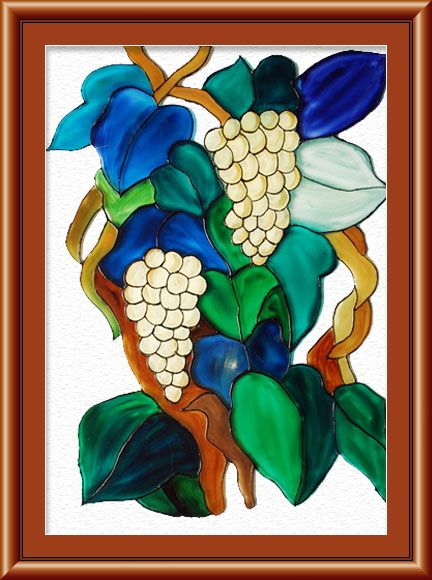 Indian Art Paintings, Ethnic Glass Painting India, Indian Artist .