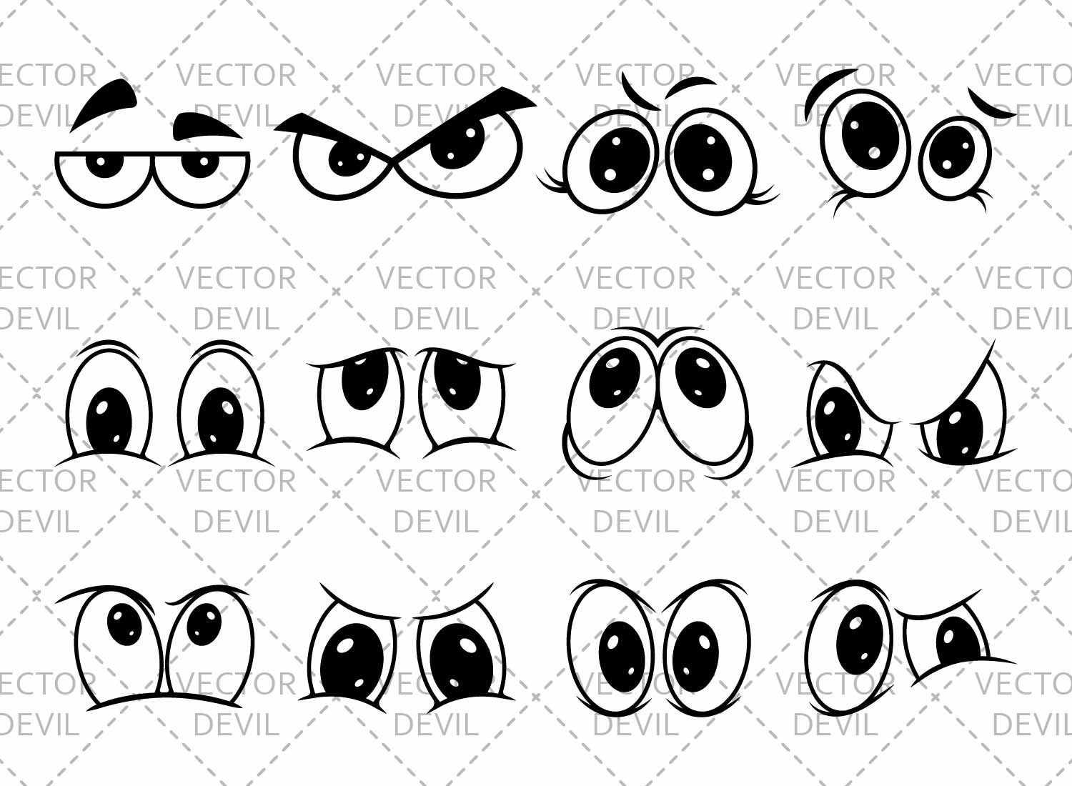 Free Cartoon Eye
