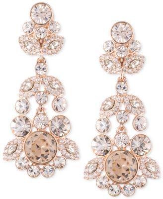 Givenchy Ornate Crystal Chandelier Earrings | Chandelier earrings ...