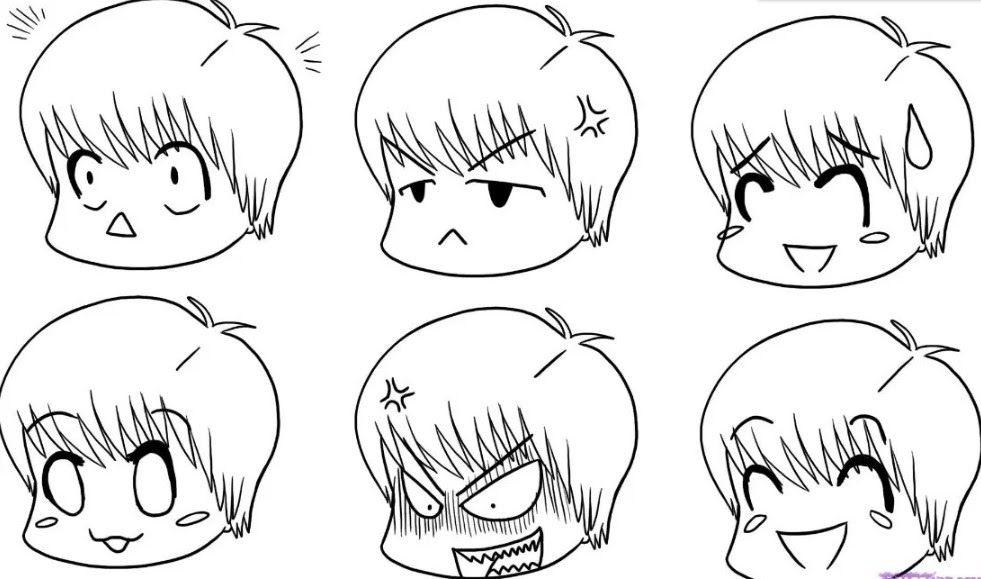 Menakjubkan 30 Gambar Anime Keren Mudah Ditiru 23 Gambar Sketsa Wajah Bunga Anime Pemandangan Flora Fauna Download Bt21 Down Di 2020 Gambar Simpel Sketsa Kartun