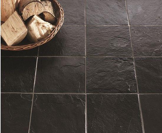 slate effect floor tiles kitchen welsh for sale type dark brown search black tile home depot
