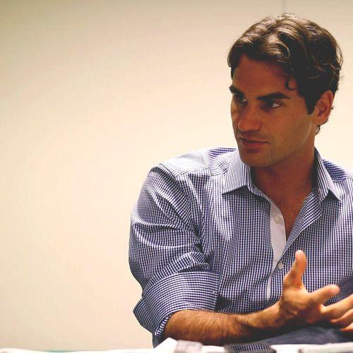 Roger Federer Press Call Wimbledon 2012