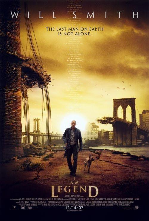 I Am Legend 27x40 Movie Poster 2007 Em 2020 Filmes Posters De