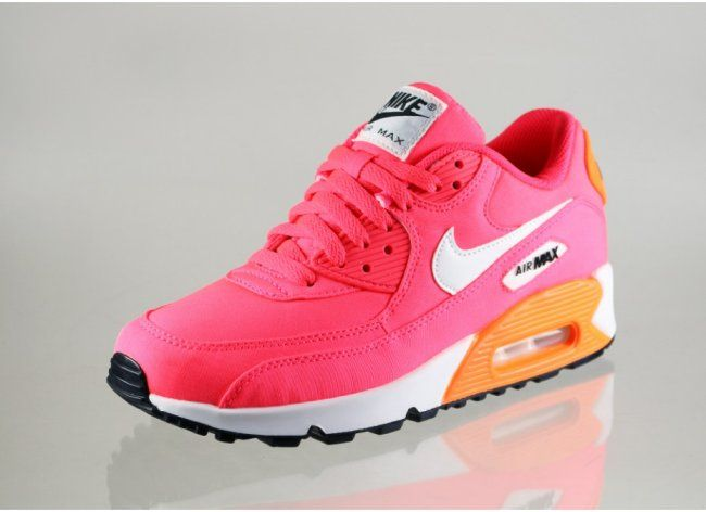 Nike Air Max 90 Premium GS – Hyper Punch Ivory Total