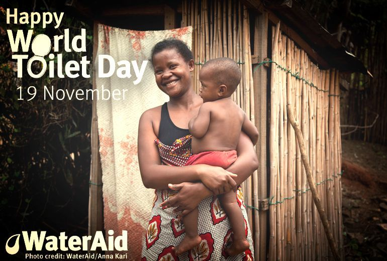 Happy World Toilet Day from us all. Learn more about the day here: http://goo.gl/jUaLza