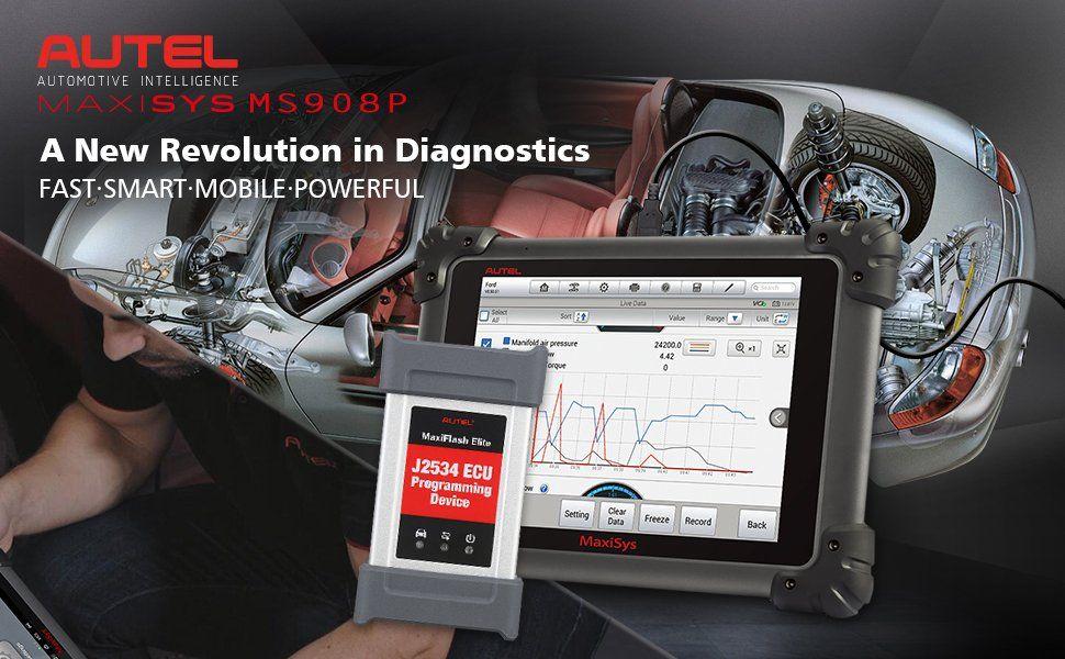Autel maxisys pro ms908p diagnosic and ecu programming