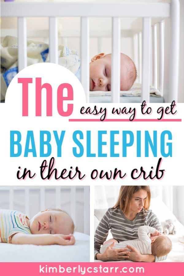 how to help baby nap in crib
