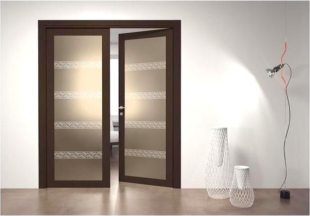 Exquisite Glass Doors For Improved Elegance Interior Design